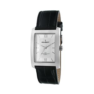Peugeot Men's Leather Watch - 2033SL