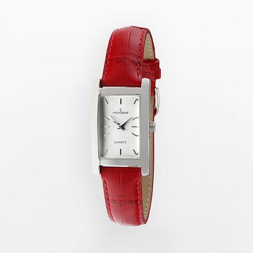 Peugeot Women's Leather Watch - 3008RD