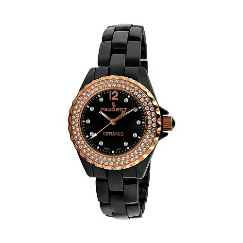 Peugeot Women's Crystal Watch - PS4892BR