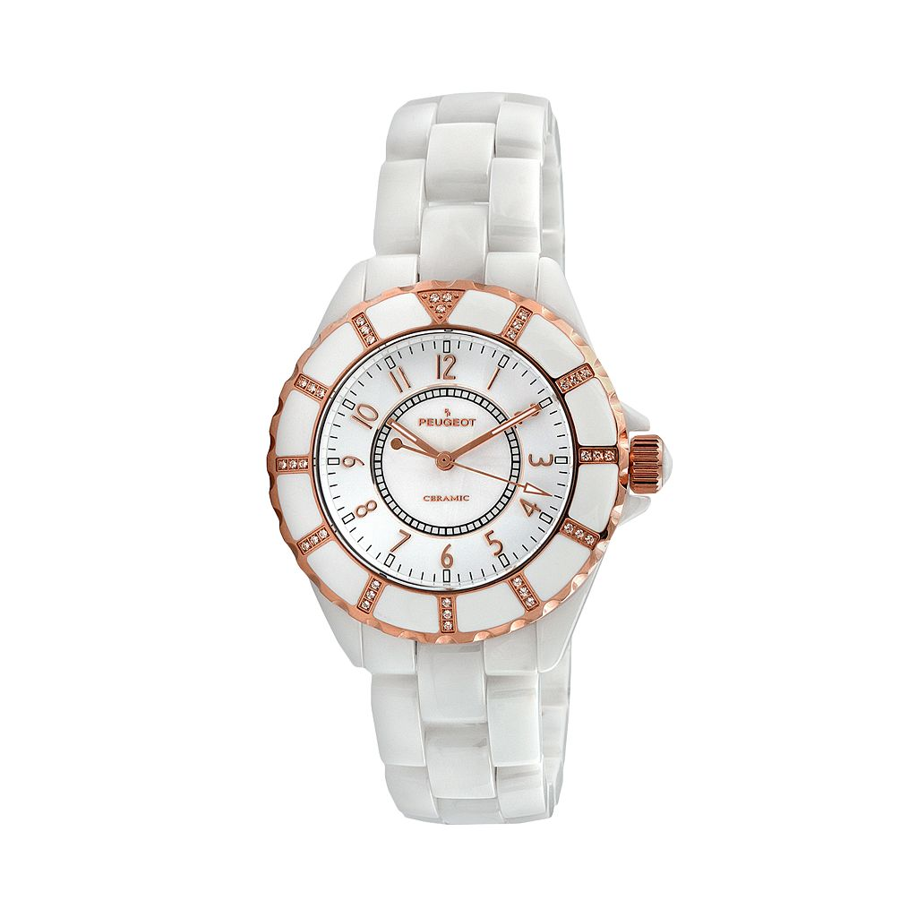 Peugeot Women's Crystal Watch - PS4893WT