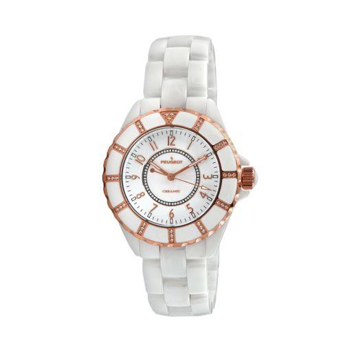 Peugeot Women's Crystal Watch - PS4893WT