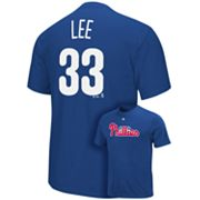 Majestic Philadelphia Phillies Cliff Lee Tee