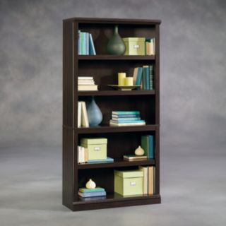 Sauder 5-Shelf Split Bookcase