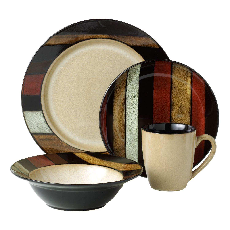 Regular & SONOMA Goods for Life™ Vallejo 16-pc. Dinnerware Set | Kohls