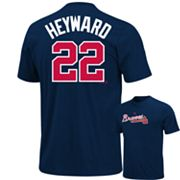 Majestic Atlanta Braves Jason Heyward Tee