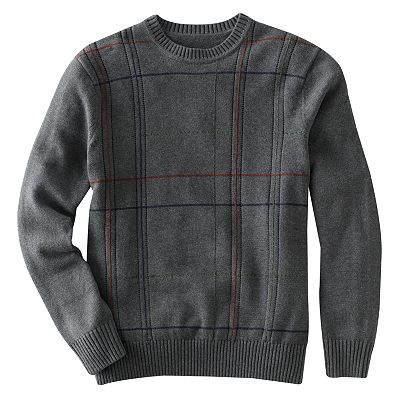 Dockers Plaid Sweater - Big and Tall