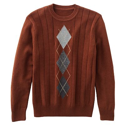 Dockers Argyle Sweater - Big and Tall