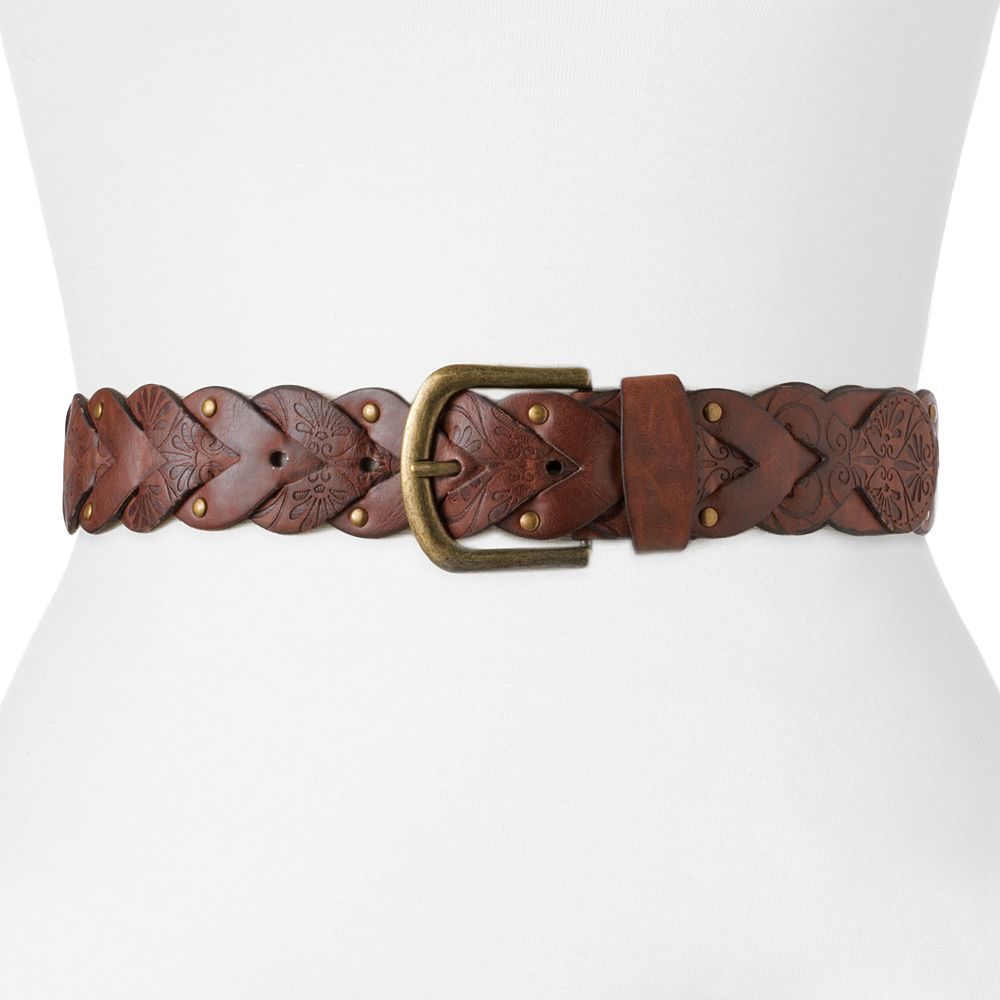 SONOMA Goods for Life® Braided Riveted Belt