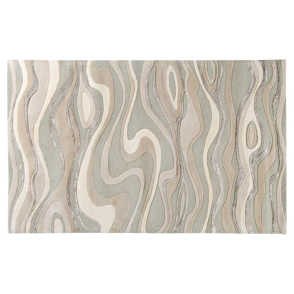 Surya Modern Classics Abstract Wave Rug - 24'' x 36''