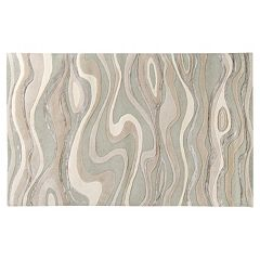 Surya Modern Classics Abstract Wave Rug