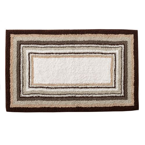 Sonoma Goods For Life Reversible Striped Bath Rug 23