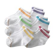 GOLDTOE 6-pk. Striped Quarter Socks