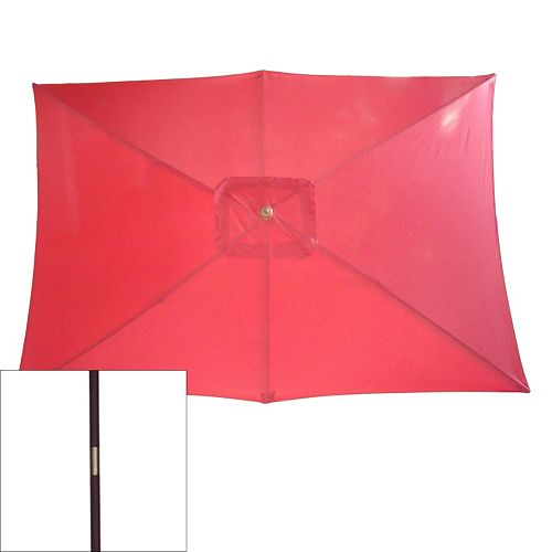 Rectangular Market Patio Umbrella