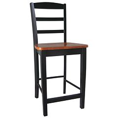 Madrid Black Counter Stool