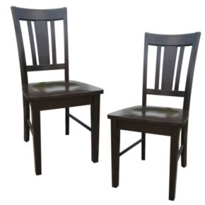 2-pc. San Remo Splat-Back Dining Chair Set