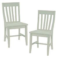 2-pc. Schoolhouse Dining Chair Set