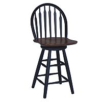 Windsor Arrowback Swivel Counter Stool