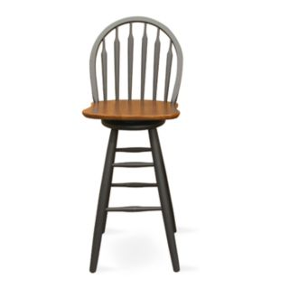 Windsor Arrowback Swivel Bar Stool