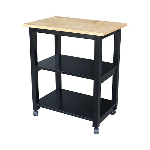 2-Shelf Microwave Cart