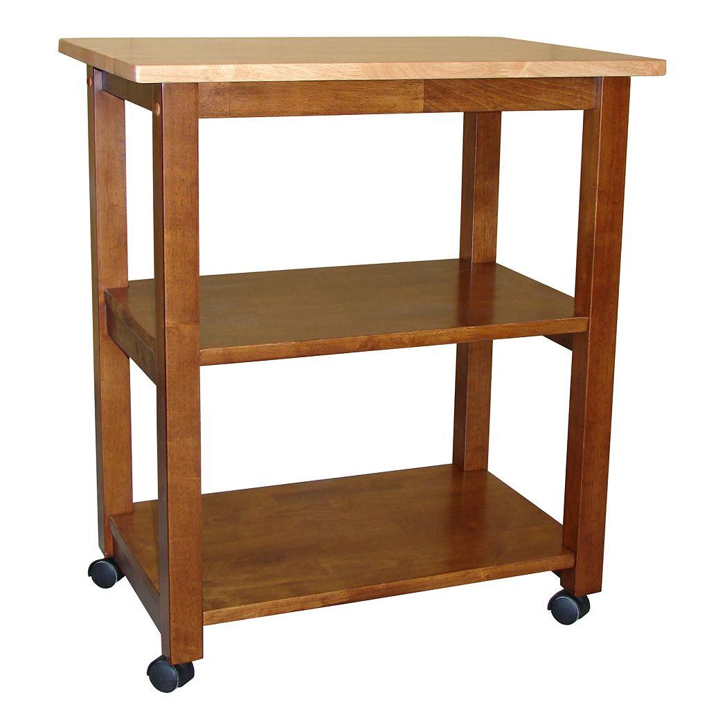 2-Shelf Microwave Cart