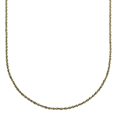 18k Green Gold-Over-Silver Margherita Chain Necklace