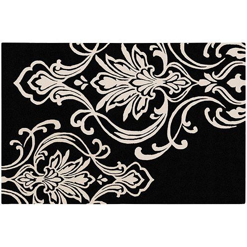 Decor 140 Modern Classics Damask Wool Blend Rug