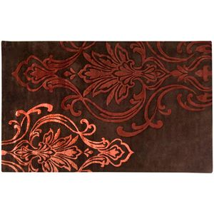 Decor 140 Modern Classics Damask Wool Blend Rug