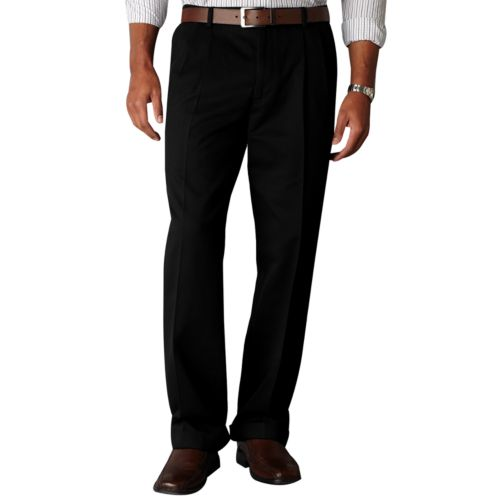 Dockers® Comfort-Waist D3 Classic-Fit Full-Elastic Pleated Pants - Men