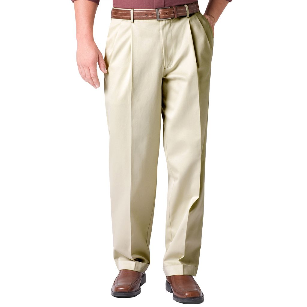 Men's Dockers® Comfort-Waist D3 Classic-Fit Full-Elastic Pleated Pants
