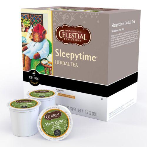 Keurig® K-Cup® Pod Celestial Seasonings Sleepytime Herbal Tea - 18-pk.