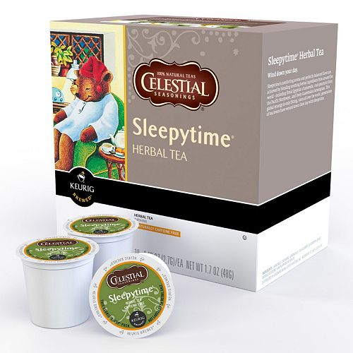 Keurig® K-Cup® Pod Celestial Seasonings Sleepytime Herbal Tea - 18-pk.