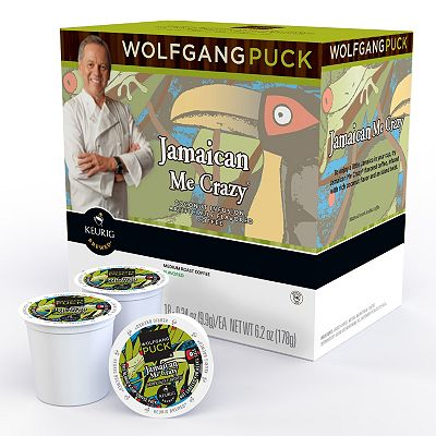Keurig K-Cup Portion Pack Wolfgang Puck Jamaica Me Crazy Coffee - 18-pk.