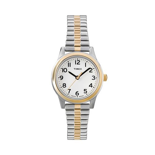 Timex Women's Two Tone Expansion Watch - T2N068