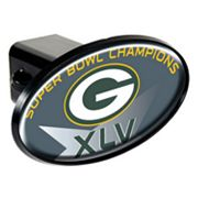 Green Bay Packers Super Bowl XLV Champions Trailer Hitch Cover