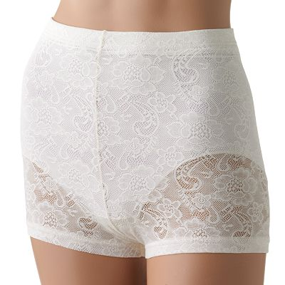 Flexees by Maidenform Firm-Control Lace Boyshorts - 1507