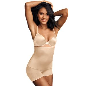302a47f6095d2 Plus Size Maidenform Shapewear Easy Up Thigh Slimmer 12357. (17). Regular