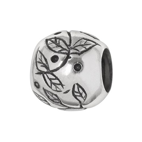 Individuality Beads Sterling Silver Leaf Bead