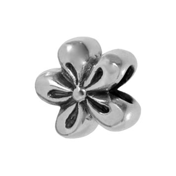 Individuality Beads Sterling Silver Flower Bead