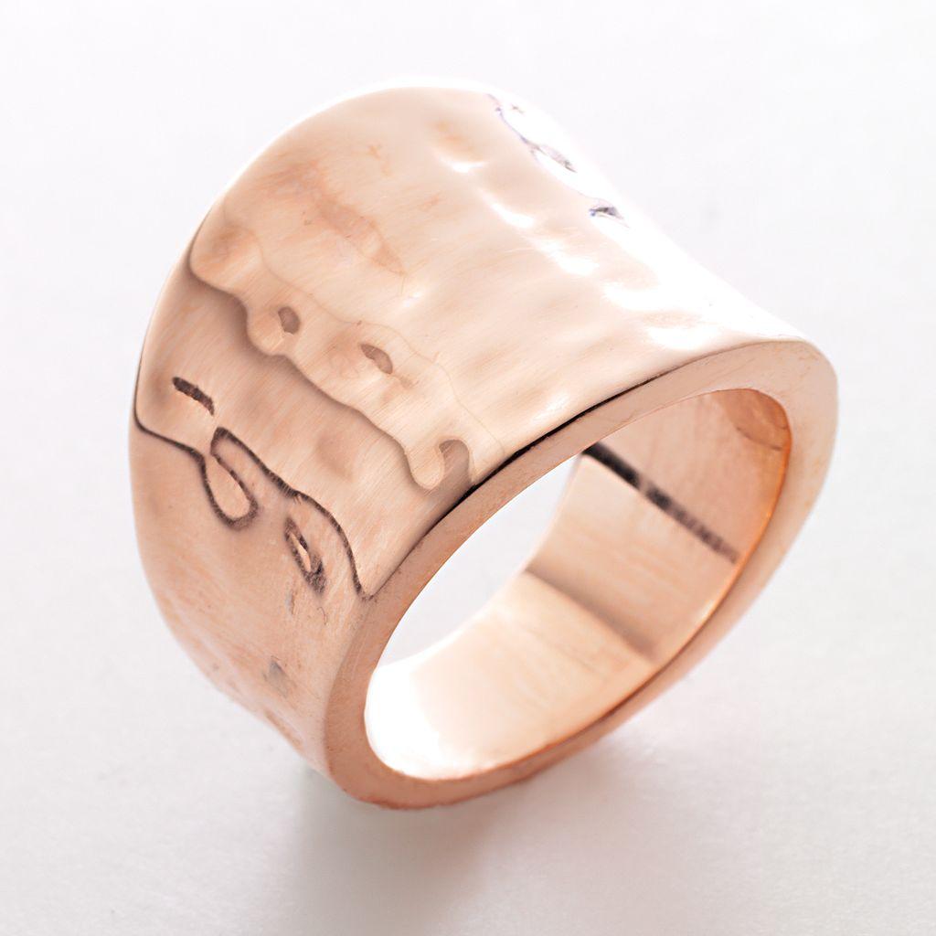 Rose Gold Tone Ring