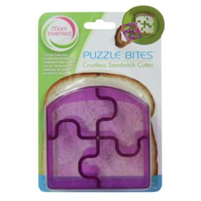 Mom Invented Puzzle Bites Crustless Sandwich Cutter