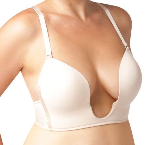 Maidenform Bra: Sexy Full-Figure Convertible Plunge Bra K2306 - Women's