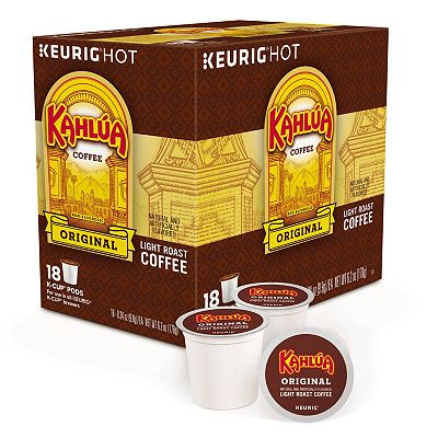 Keurig K-Cup Portion Pack Timothy's Kahlua Coffee - 18-pk.