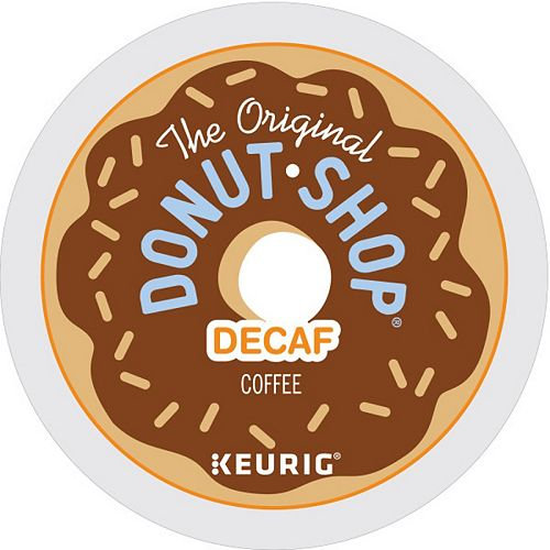 The Original Donut Shop Decaf Coffee Keurig® K-Cup® Pods, Medium Roast, 18 Count