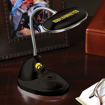 Memory Company Iowa Hawkeyes Flexible LED Desk Lamp