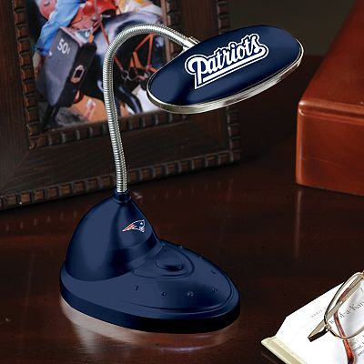 Memory Company New England Patriots Flexible LED Desk Lamp