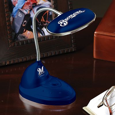Memory Company Milwaukee Brewers Flexible LED Desk Lamp