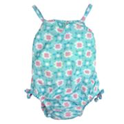 water wear by i play. Daisies One-Piece Swimsuit - Toddler