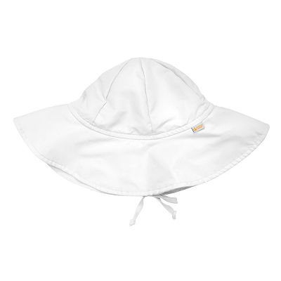 water wear by i play. White Sun Protection Hat - Toddler