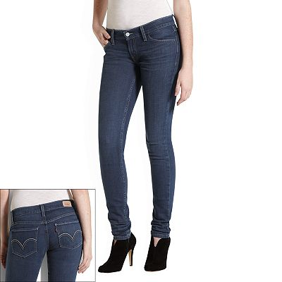 Levi's 524 Too Superlow Skinny Jeans - Juniors