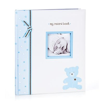 Pearhead My Record Book Bear Baby Book